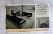 1962 Convertible Double Bed, Couches, Clive Latimer Design