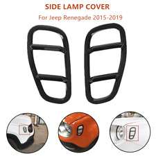 Side Lamp Cover Light Trims Car Styling Accessories Fit For Jeep Renegade 15-19
