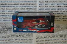 IXO VOITURE 24 HEURES DU MANS  1/43 PANOZ LMP900 #12  H. Katoh - J.O'Connel 2000