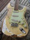 "DY Guitars Philip Sayce ""Mother"" tribute relic strat guitar"
