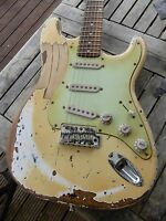 "DY Guitars Philip Sayce ""Mother"" tribute relic strat guitar"