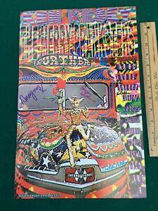 SIGNED Furthur Bus Merry Pranksters GRANDFURTHUR Tour R&R Hall of Fame Ken Kesey