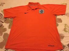 Holanda-Países Bajos Talla XXL Color Naranja Camiseta De Fútbol Nike
