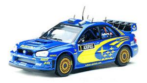 1/43 Vitesse 43109 L/E Subaru Impreza WRC 2004 Acropolis #1 Solberg & Mills New