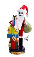DISNEY NIGHTMARE BEFORE CHRISTMAS SANTA JACK SKELLINGTON NUTCRACKER ADLER GIFT