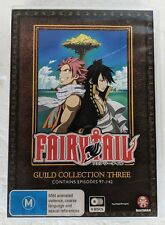 FAIRYTAIL Guild Collection Three EPISODES 97-142 R4 NTSC 8-DVD Set oz seller 3