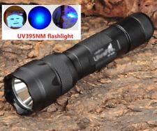 UltraFire 502B Blacklight UV 395 Ultraviolet LED Pet Detector Bed Bug Flashlight