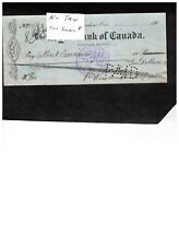 CANADA WAR SALES TAXES on CHEQUES set #5**10 SPECIMEN -VARIOUS $40.00  BOOK 304