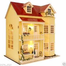 Case di bambole e miniature in legno in qualsiasi stanza Scala 1:6