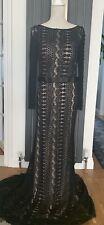 Luxury Black Forever Unique Gown - Size 14 | RRP £500