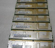 SAMSUNG 64GB (8 x 8GB) PC2-5300F 4Rx4 DDR2 M395T1G60QJ4 DELL 2950 HP DL380 G5