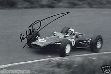 "Richard Attwood Formula One Le Man Driver Hand Signed Photo Autograph 12x8"" D"