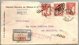 GP GOLDPATH: MEXICO COVER 1923 REGISTERED LETTER _CV747_P03