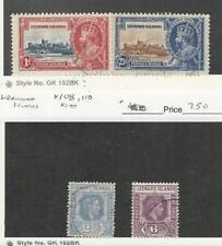 Leeward Islands, Postage Stamp, #96, 98, 108, 110 Used, JFZ