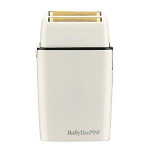 Babyliss Pro FOILFX02 White Cordless Double Foil Shaver 110-220 Volts FXFS2W