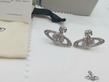 Vivienne Westwood Silver color EARRINGS with box