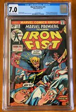 Marvel Premiere #15 (1974) - 1st Iron Fist! - CGC 7.0 - Key!