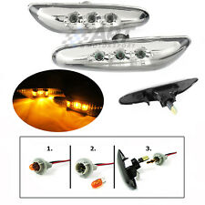 Intermitentes laterales led con acabado claro para Bmw E60 E61 side repeaters