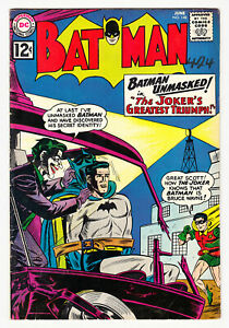 BATMAN #148 JOKER COVER MOONEY, MOLDOFF &  PARIS 1962!