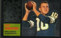 7~~FRAN TARKENTON FOOTBALL CARDS~~Includes HIS ~ROOKIE~RP CARD!!