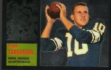 7~~FRAN TARKENTON FOOTBALL CARDS~~Includes HIS ~ROOKIE~RP CARD!!
