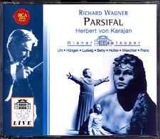 WAGNER PARSIFAL 1961 KARAJAN 4CD Fritz Uhl Hotter Höngen Christa Ludwig