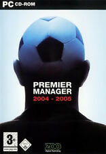 Premier Manager 2004-2005 (PC) NEW SEALED 04/05