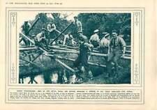1915 Building Bridge Pistol Revolver Cross Section