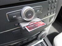 PCMCIA CardReader, 16GB CF, USB-Adapter, für Mercedes Comand APS W212 W221 W204