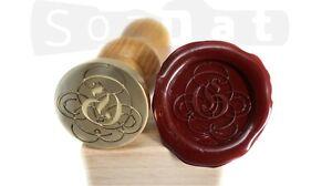Custom Wax Seal Stamp Sealing Wax Stamp Custom Stamp Family Coat of Arms Wedding