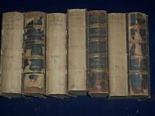 1894-1895 LA REVUE DE PARIS FRENCH BOUND VOLUME LOT OF 12 - NICE TEXT - KD 1383