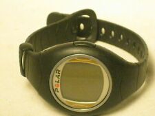pre-owned POLAR F4 heart rate monitor watch only black band