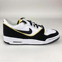 Nike Air Assault Low (GS) Size 7Y Shoes White Black Varsity Maize 316684-101