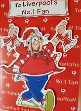 Liverpool's No 1 Fan  Birthday/All Occasion Football Card