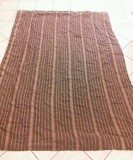 Room Essentials Comforter - Brown and Tan Striped - Size: Twin