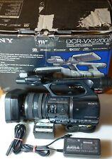 Sony DCR-VX2200E miniDV Camcorder 3CCD Profi  Video Kamera Handycam
