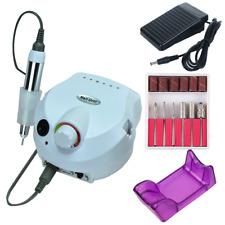 30000RPM Golden Electric Manicure Pedicure False Nail Art File Drill Machine WHI
