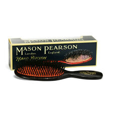 Mason Pearson  Brush POCKET PURE BRISTLE B4 Dark Ruby/Black - RRP$165