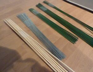 Floristry Wires Assorted guage Stub Wires Starter Kit & Skewers Florist course