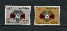 U707  Kuwait  1971  telecoms  I.T.U.    2v.   MNH