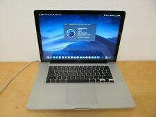 "Apple MacBook Pro 15"" Mid 2012 Core i7 2.3Ghz 8GB DDR3 1.5TB Mojave GT650m"