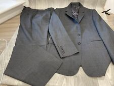 Jaeger Mens Modern Grey 2 Piece Suit Jacket 40R Pants 34R Mens See Description