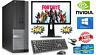 ULTRA FAST Core i7 Gaming Computer Full Set PC 1TB 16GB RAM GT 710 Win10 WiFi