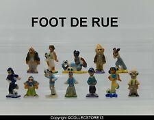 SERIE COMPLETE DE FEVES FOOT DE RUE
