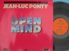 Jean-Luc Pony ORIG GER LP Open mind NM '84 Polydor 8235811 Jazz Bop Fusion
