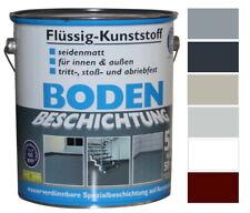 Liquido Plastica 5L Rivestimento Pavimento 50m ² Colore Cemento
