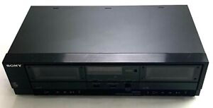 Sony TC-W370 Dual Tape Player System Control Cassette Deck Tape Recorder no cord