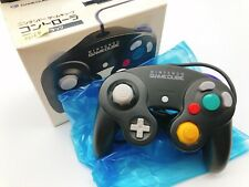 【Boxed】Nintendo Official GameCube controller Black F/S 0616B