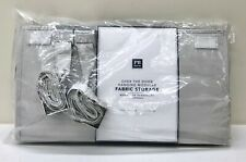 NEW Pottery Barn TEEN Over The Door Hanging Modular Fabric Storage Organize~GRAY
