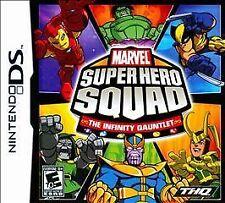 Marvel Super Hero Squad: The Infinity Gauntlet Nintendo DS DSi XL Lite 3DS Game